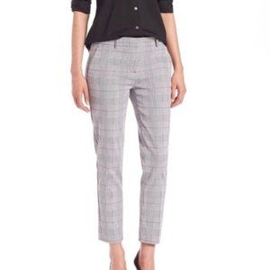 Theory Treeca CL trouser in Brant Check plaid pant size 8